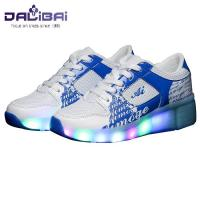 China 2017 New style led light up running shoes kids roller shoes wholesale
