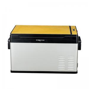 China CFC Free Portable Car Refrigerator , 12V 30AH 50l Portable Fridge Freezer wholesale