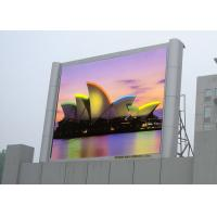China Waterproof Outdoor Big Screen Led TV HD Led Display With Pixel Pitch 10mm RGB wholesale