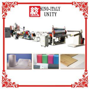 China High Speed Epe foam sheet machine wholesale
