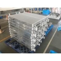 China Lightweight Microchannel Compact Heat Exchanger For Heat Pump / Air Conditioner wholesale