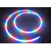 China Colorful Battery Powered Neon Led Strip Lights High Luminous Flux Eco - Friendly wholesale