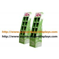 Quality Shop Promotion Cardboard Display Stands With 8 Pockets For Books for sale