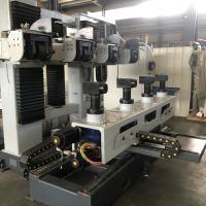 China Sanitary Fittings CNC Polishing Machine Buffing Wheel With 380V / 50Hz Voltage wholesale