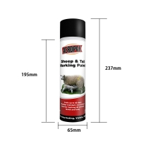 Buy cheap Acrylic 500ml Aerosol Animal Marking Paint Spray ISO9001 from wholesalers