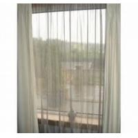 China rf shielding fabric curtains transparent silver mesh mosquito net fabric wholesale