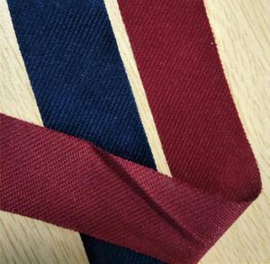China Microfiber Fabric Sewing Screw Thread Binding Tape Hemming Piping Blue 4cm Width Fabric wholesale