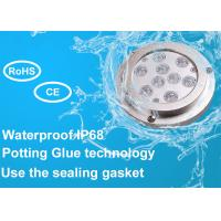 China IP68 Waterproof 316 Stainless Steel Underwater Boat Led Light for Marine Yacht wholesale