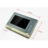 China CK80 Metal case 7 inch color TFT LCD screen intercom system night vision with CMOS camera video door phone for villa wholesale