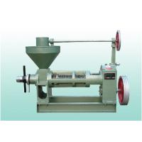 China High Capacity Expeller Oil Pressing Machine , 7.5 KW Commercial Oil Extractor wholesale