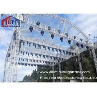 Arch Shape Aluminum Stage Truss , Outdoor Truss Structure Truss Display Systems
