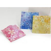 Quality Customized Three Side Sealed Pink Color Cosmetic Bag Packaging For Mask for sale