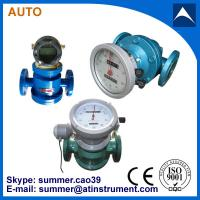 China oval gear transmitter cast iron flow meter pulse output with low cost wholesale