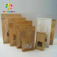 Quality High Temperature Stand Up Pouch Pressure Resistance For Coffee Beans The Kraft for sale