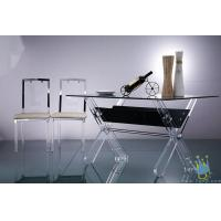 China acrylic pub table and chair wholesale