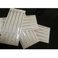 China 100% EO GAS Traditional Tattoo Needle For Tattoo Eyebrow Machine / Long Time Using on sale