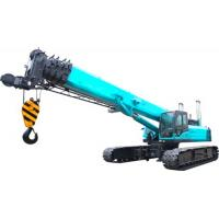China U Type High duty hydraulic mobile crane with smooth rotation , 11.2m Jib length on sale