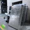 Buy cheap External Powder Coated Metal panel Aluminium Facade Customized metal cladding from wholesalers