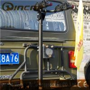 China 2 Bike Ball Mounted Car Rear Bike Carrier Rack Rear Trunk Iron wholesale