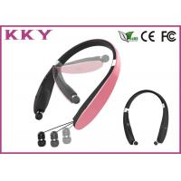 China On Ear Comfortable / Inviting Foldable Bluetooth Headset with 10m RF Distance wholesale