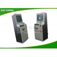 China Waterproof LCD Monitor Bank Self Service Kiosks For Business AC 110V - 240V wholesale