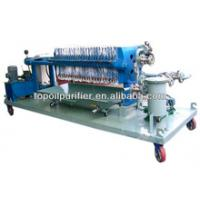 China TOP plate and frame filter press machine on sale