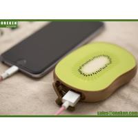 Buy cheap Long Lasting High Capacity Power Bank Fruit Shape 109 X 74 X 20mm Size from wholesalers