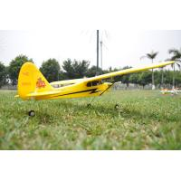 China 4CH 2.4GH RTF Piper J3 Cub Ready to Fly RC Plane Radio Controlled Gyro Flyer RC Helicopter wholesale