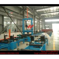 China Automatic H Beam Assembly Machine With Two Sets Of Co2 Tack Welding 2000mm Web Height wholesale