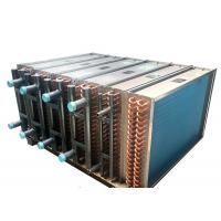 China High Durability Copper Tube Fin Heat Exchanger For Chiller Water Cooling Area wholesale