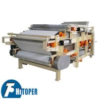 China Electric Controlled Belt Filter Press High Temperature Resistant For Biological Industry wholesale