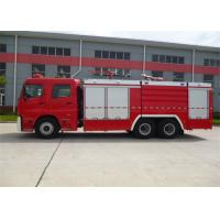 China Diesel Fuel Vacuum Tanker Fire Truck 6350mm Wheelbase With Rear Mounted Pump wholesale