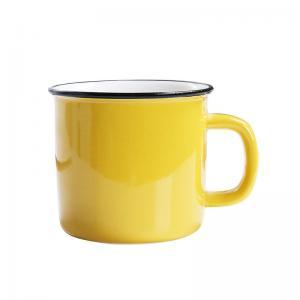 China Mixed Color 350CC 12x8.5x8.2cm Personalised Ceramic Mugs wholesale