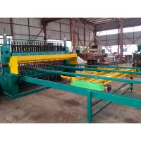 China Automatic Concrete Reinforcing Wire Mesh Spot Welding Machine With PLC Control System wholesale