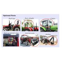 China China Factory Supply 55HP 4WD Mini/front tyre Garden/Orchard/Agricultural/flat tyre Farm Tractor tractor with front end on sale