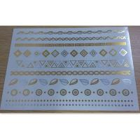 China Body Custom Temporary Tattoo shimmer metallic temporary tattoo wholesale