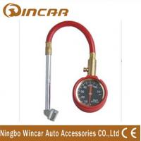 China Heavy Duty Dial Tire Gauge/Car Tyre Deflator with Hose for WH36 wholesale