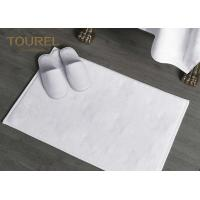 China Cotton Jacquard Hotel Bath Mats Carpet For 4 Or 5 Star Hotel wholesale