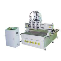 China NEW STAR GF-1325T3 Pneumatic three heads  ATC carving machine china manufacture cnc surpplier google wholesale