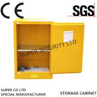 Adjustable Locking Powder Coated Flammable Liquid Storage Cabinets 4-Galon Bench Top