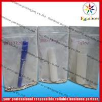 China stand up comestic packaging bag with zipper wholesale