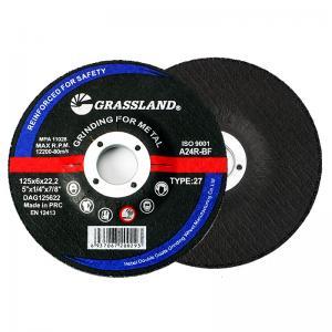 China Abrasive 125 X 6.0 X 22.23mm Burr Free Metal Grinding Discs wholesale