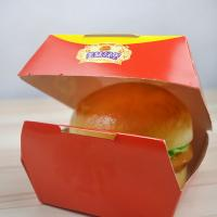 China Custom Made Paper Box For Burger King Packaging , Hamburger Paper Box For Restaurant wholesale