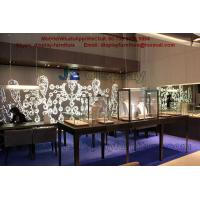 China Creation new concept for the jewelry Display Showcase with interior design and accessories project wholesale