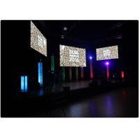 China High Resolution Mp4 Led Video Wall Rental , Smd Led Display Wide Viewing Angle wholesale