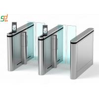China Automatic Supermarket Swing Gate,Face recognition Glass Arm Turnstile Systems wholesale