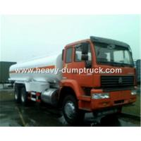 Fuel Transportation Oil Tank Truck 6x4 25 CBM With HF7 Front Axle and ST16 Rear