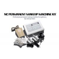 China Stainless Steel Permanent Makeup Tattoo Machine Kit With Cartridge Needle wholesale