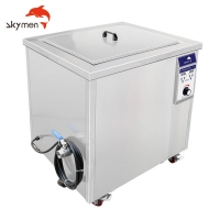 China Skymen JP-120ST 38L Digital Industrial Heat Exchanger Ultrasonic Cleaner With CE FCC RoHS on sale