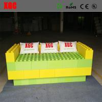 China 5 Color Children'S Building Blocks , Amusement Park Equipment Water Resistance wholesale